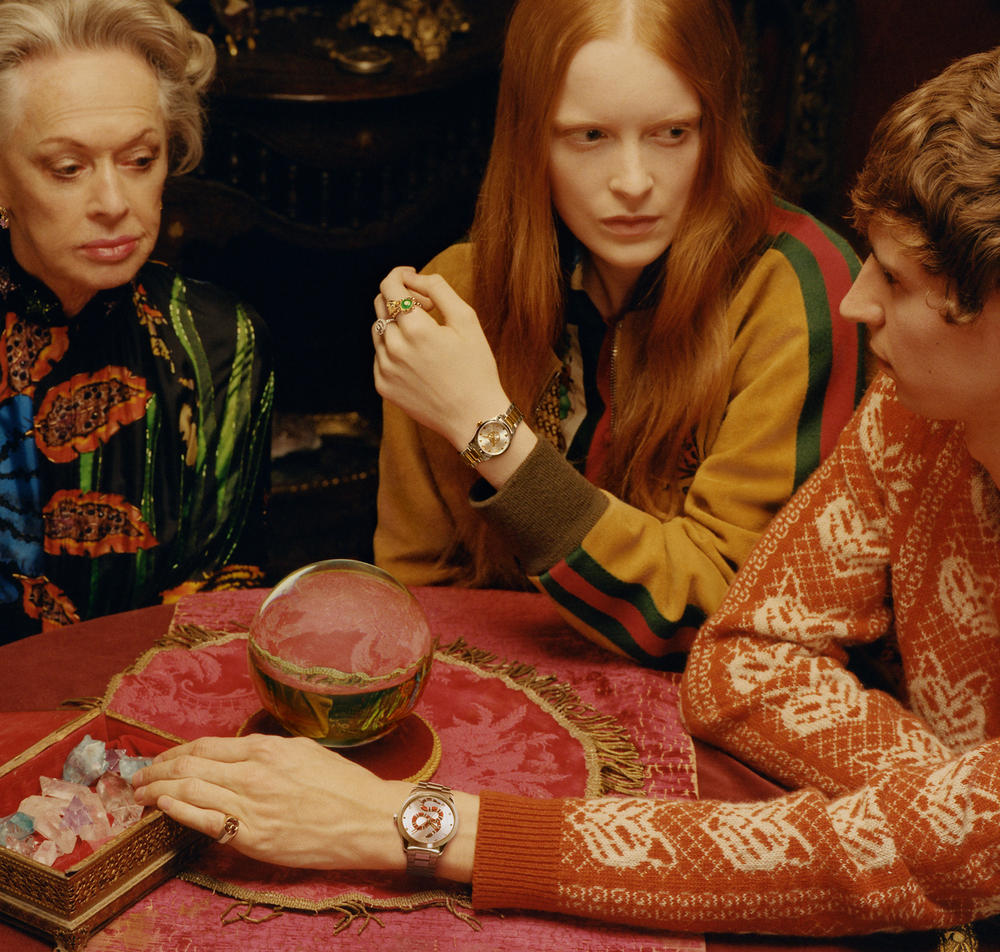 Gucci New Timepiece Campaign spring summer 2018 watches