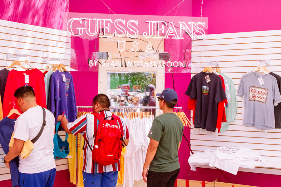 "Guess's ""Farmers Market"" Event in L.A. Brought Out Streetwear's Most Colorful Fans"