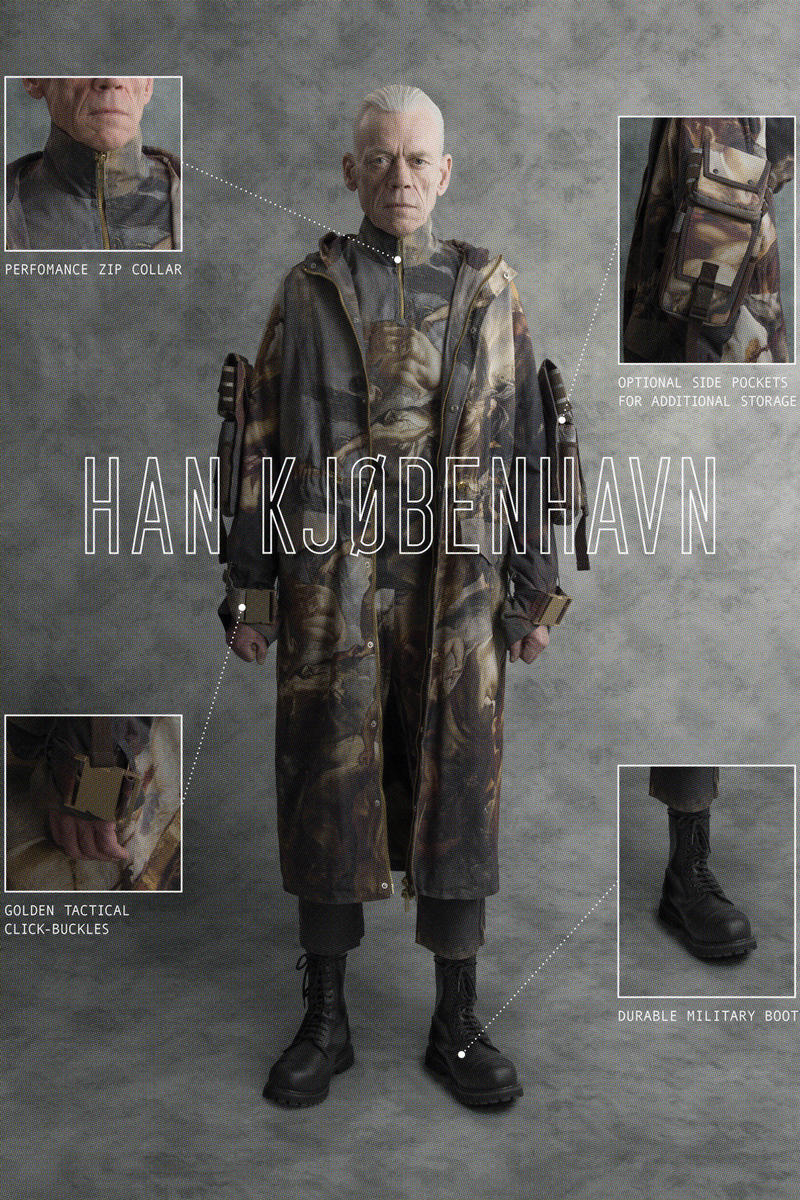 ad0795f1 Han Kjobenhavn Spring Summer 2018 Lookbook collection release date info  drop military technical tactical