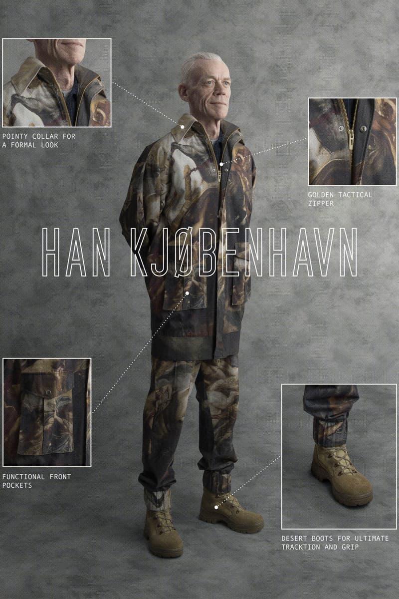 Han Kjobenhavn Spring Summer 2018 Lookbook collection release date info drop military technical tactical