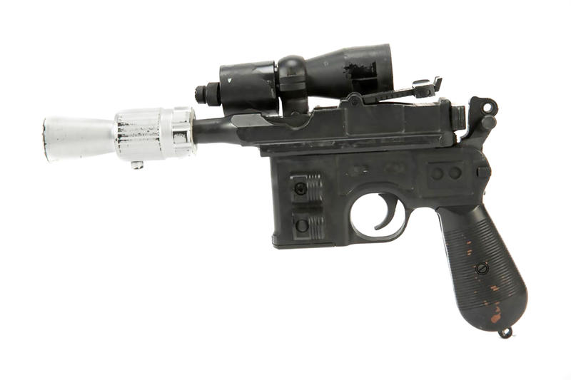 Han Solo Blaster Auction Star Wars Return of the Jedi Props Weapons Guns