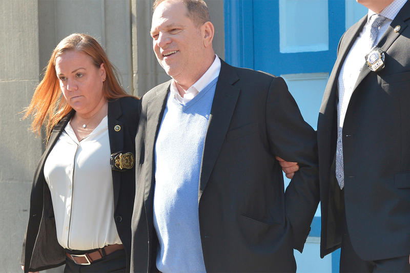 Harvey Weinstein Turns Himself In NYPD arrested new york city