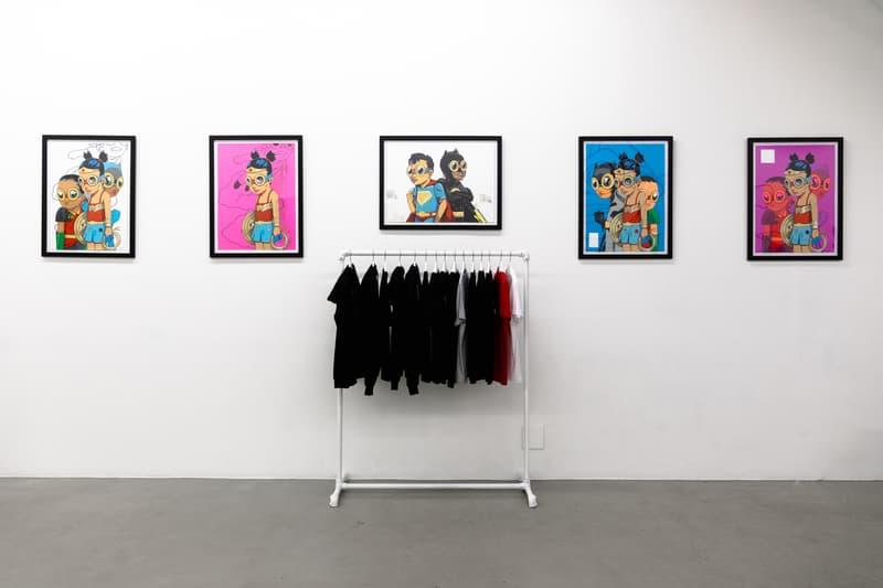 hebru brantley nevermore pop up nyc vinyl art collectible sculptures artworks paintings prints