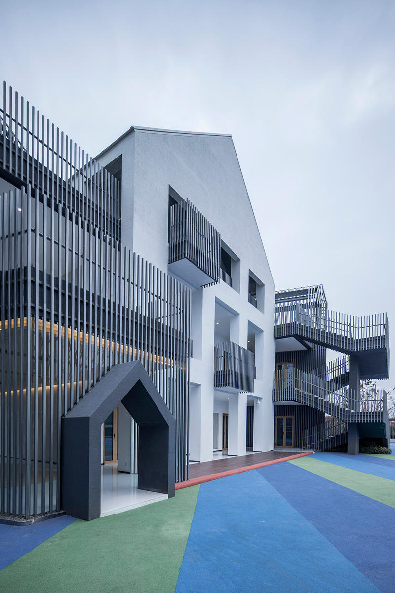 Hefei Wantou Vanke Paradise Art Wonderland Shanghai Tianhua Architectural Design China Modern Interior Exterior School Kindergarten Pre-School