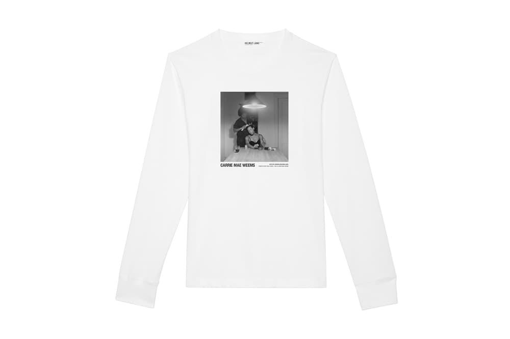 Helmut Lang Artist Series Carrie Mae Weems may 2018 release date info drop