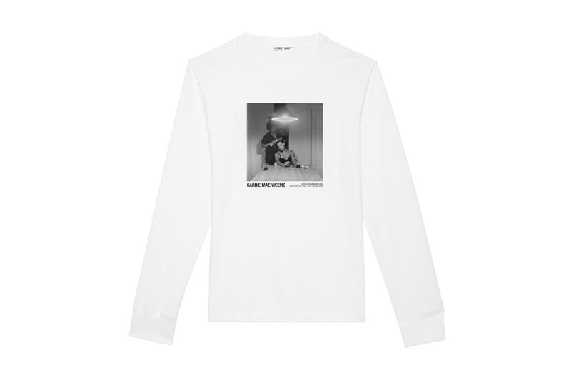 Helmut Lang Artist Series Carrie Mae Weems may 2018 release date info drop