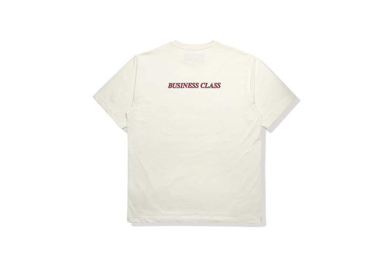 "Heron Preston ""Business Class"" Capsule Collection HBX Clothing Available In-Store May 4 Online May 9 T-shirts Socks Longsleeves Caps AIRBORNE Release Information Details Pop-Up"