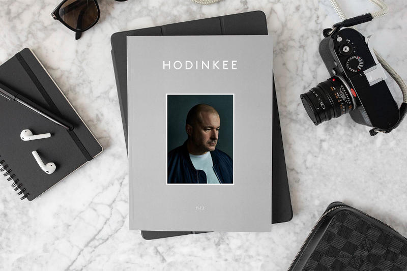 HODINKEE Magazine volume 2 jony ive apple cover story may 2018