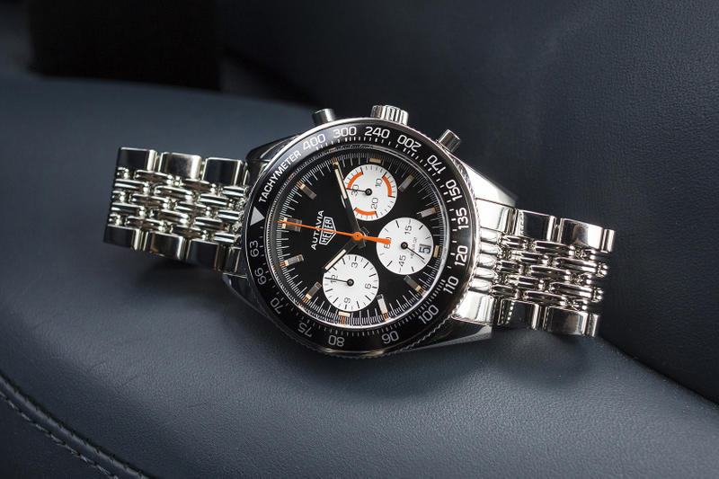 HODINKEE TAG Heuer Autavia Calibre Heuer 02 watch chronograph may 31 2018 october release date info drop preorder pre order orange boy