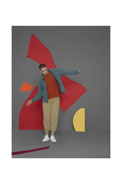 HOMME PLISSÉ ISSEY MIYAKE Fall Winter 2018 collection Lookbook jackets pants sweaters
