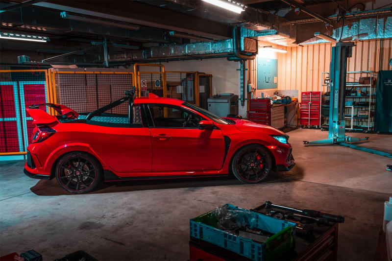 Honda Civic Type R Pickup Truck Concept SMMT Test Day project p hot hatchback