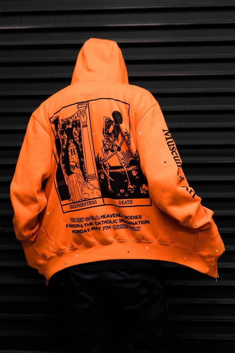 Hubble Studio The Met Hoodie Orange Black fashion 2018 carhartt gala release date info drop