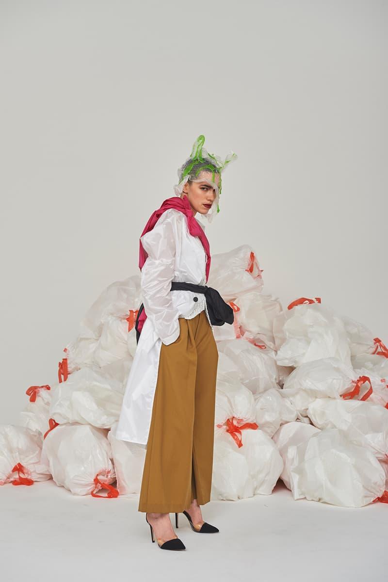 Hukumika facetasm dressedundressed name. lookbook spring summer 2018 collection bodysong anrealage yoshio kubo gilet discovered near nippon japan sise uemolo munenoli collection