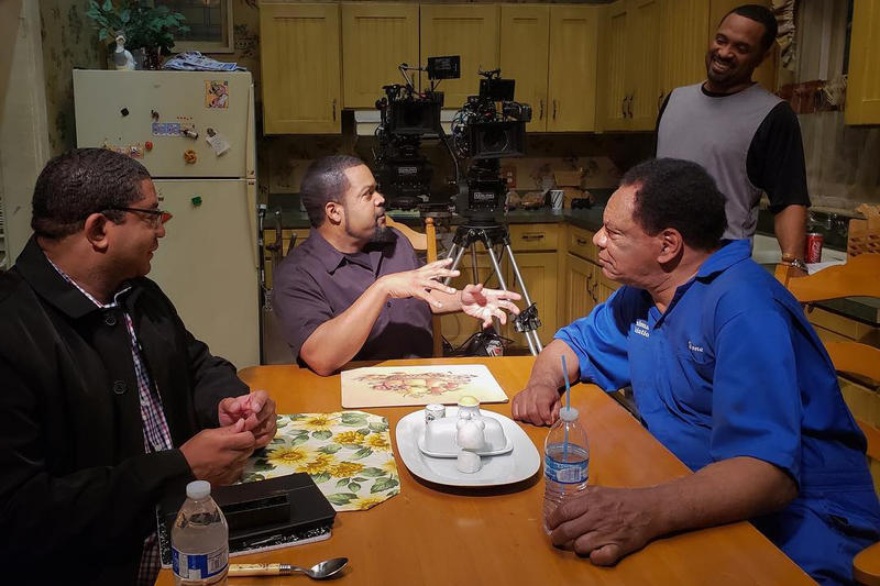 Ice Cube Mike Epps John Witherspoon Set Footage Video Picture New Last Friday Movie