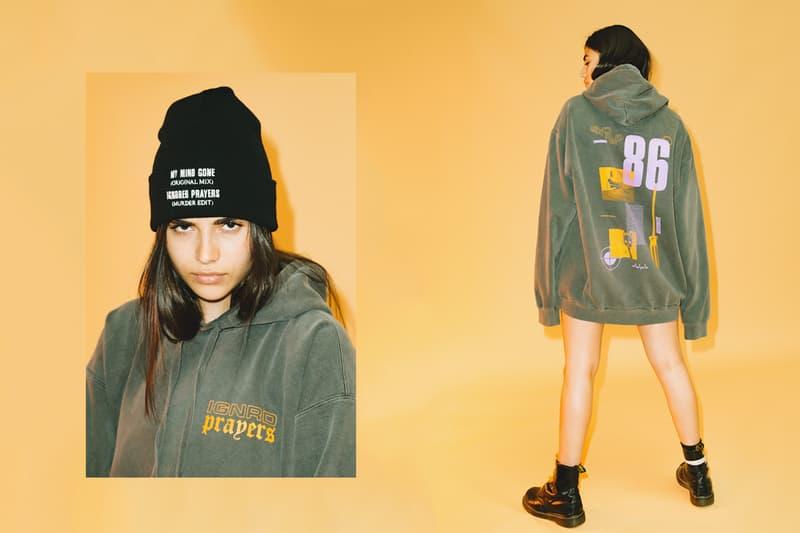 Ignored Prayers Spring Summer 2018 Drop 1 Release T-shirt Longsleeve Hoodie Cap Hat lookbooks