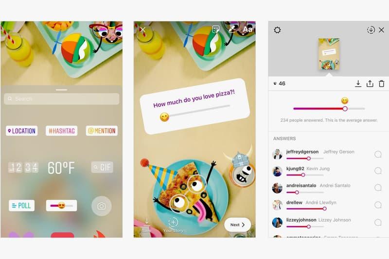 Instagram Adds Emoji Slider Stickers Polls Stories
