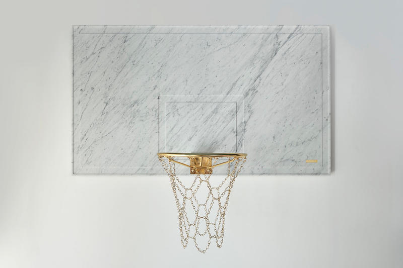 Ioaiao Gold Marble Nostalgia Collection basketball net