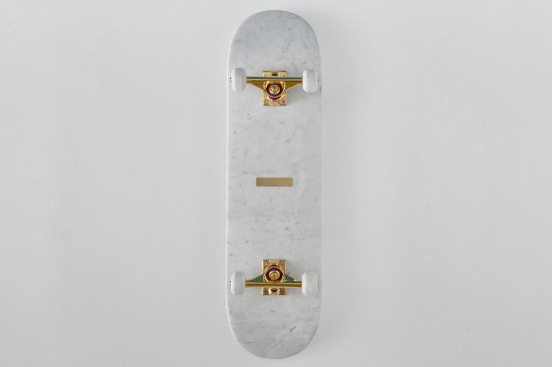 Ioaiao Gold Marble Nostalgia Collection skateboard