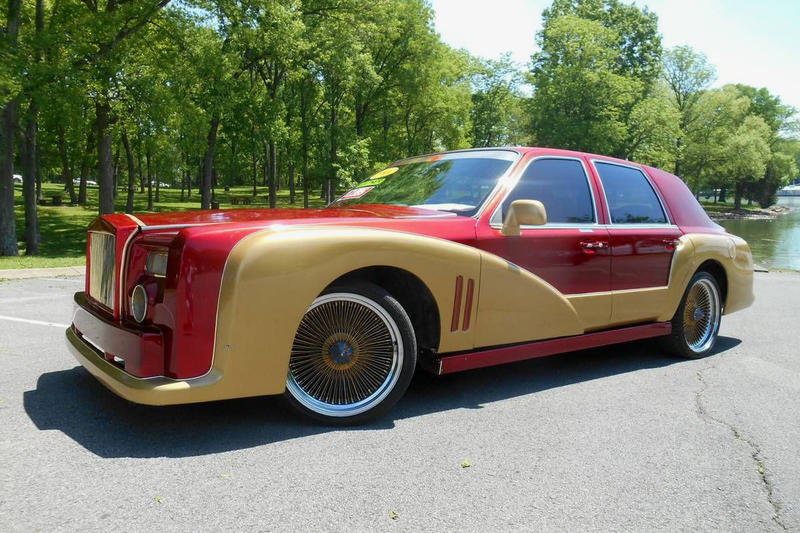 Customizer Creates Iron Man Themed Lincoln Car Hypebeast