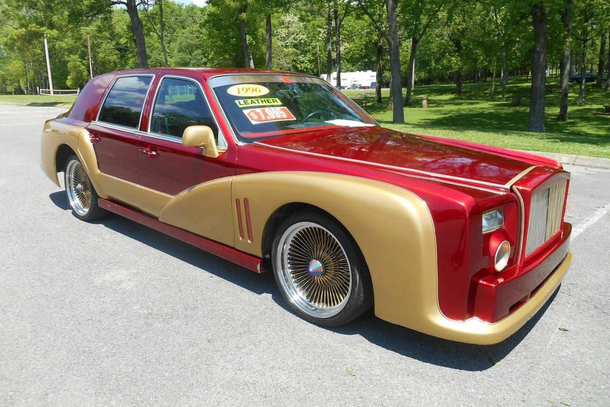 Customizer Creates Iron Man Themed Lincoln Car Hypebeast