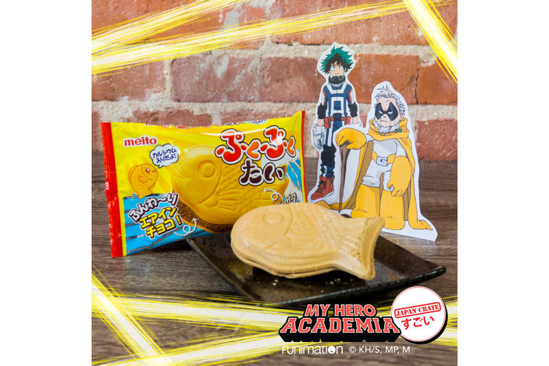 Japan Crate My Hero Academia June Subscription