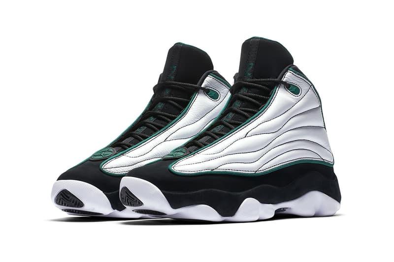 Jordan Pro Strong White Green Black footwear 2018 Jordan Brand Michael Jordan