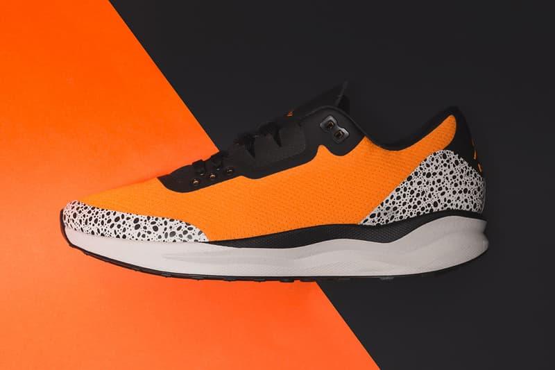 8c5b52bd10c3 Jordan Zoom Tenacity 88 Nike Air Safari Print Release Info Date Drops  Runners Sneakers Orange Black