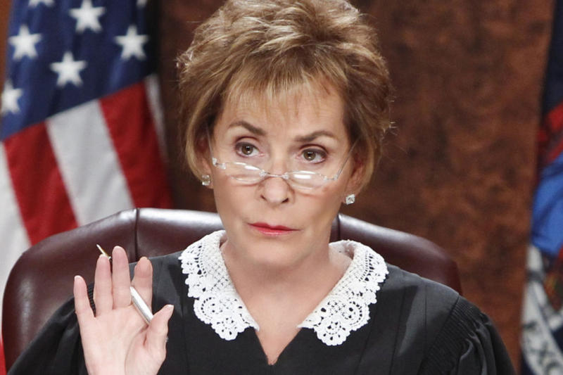Judge Judy Settles Virgil Abloh Air Jordan 1 Scam off white episode may 2018
