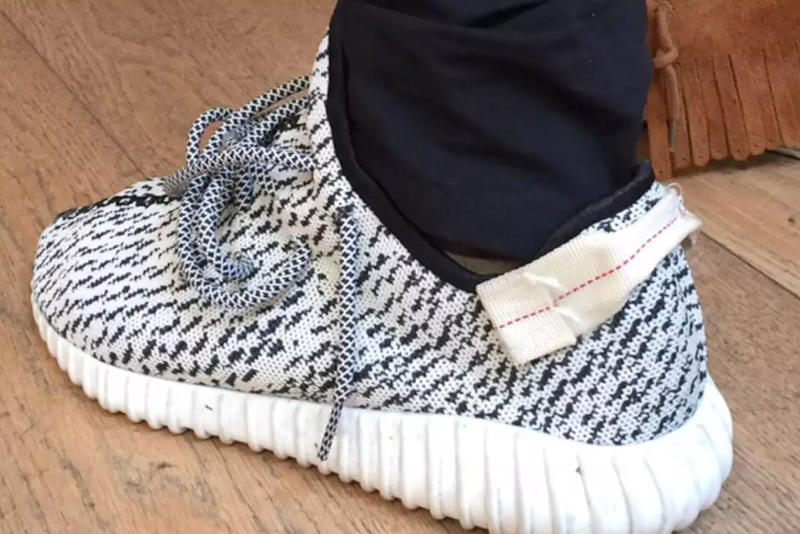 Kanye West Shares adidas Originals Original YEEZY BOOST 350 Sample 9089ecd5d