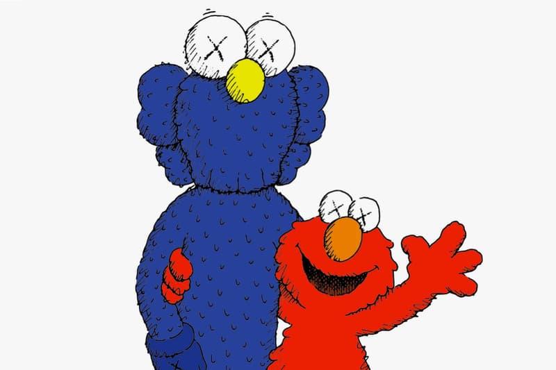 KAWS Sesame Street uniqlo ut bbf companion elmo