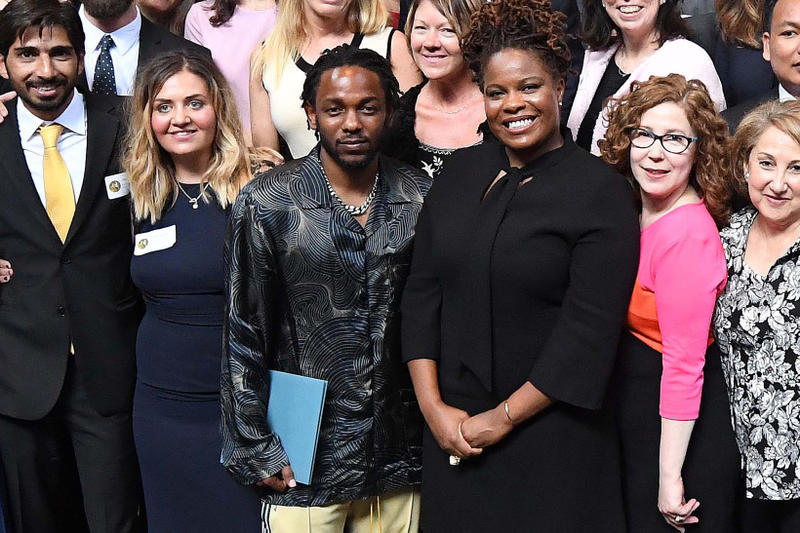 Kendrick Lamar Pulitzer Prize acceptance accepted may 30 2018
