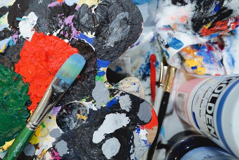 kinfolk 90 kinetic exhibition meguru yamaguchi yoon hyup artworks prints incense holders paintings