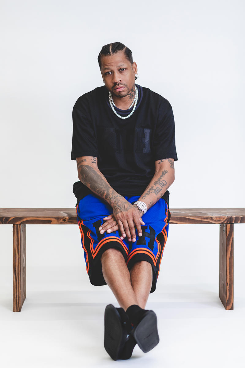 KITH x Mitchell & Ness Collection Lookbook 2018 may fashion Ronnie Fieg Allen Iverson