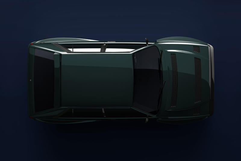 Lancia Delta HF Integrale Automobili Amos Restomod Dark Green