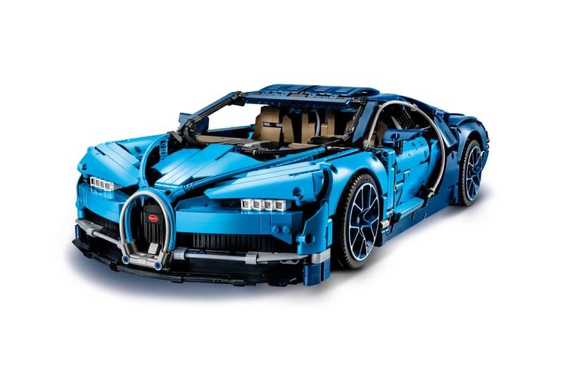Lego Technic Bugatti Chiron Unveiling Hypebeast