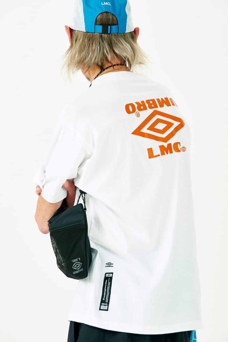 LMC Umbro Korea Summer 2018 Capsule Collection Lost Management Cities