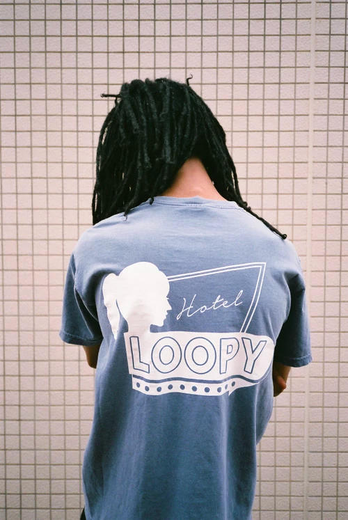 Loopy Hotel Spring/Summer 2018 T-Shirt Collection streetwear egyptian lover phil collins chico xavier graphic tees japan tokyo