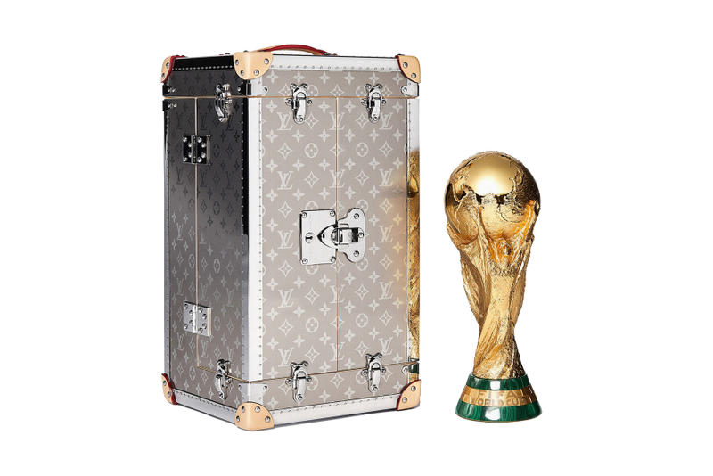 Louis Vuitton 2018 FIFA World Cup Trophy Case adidas official match ball collection trunk auction price