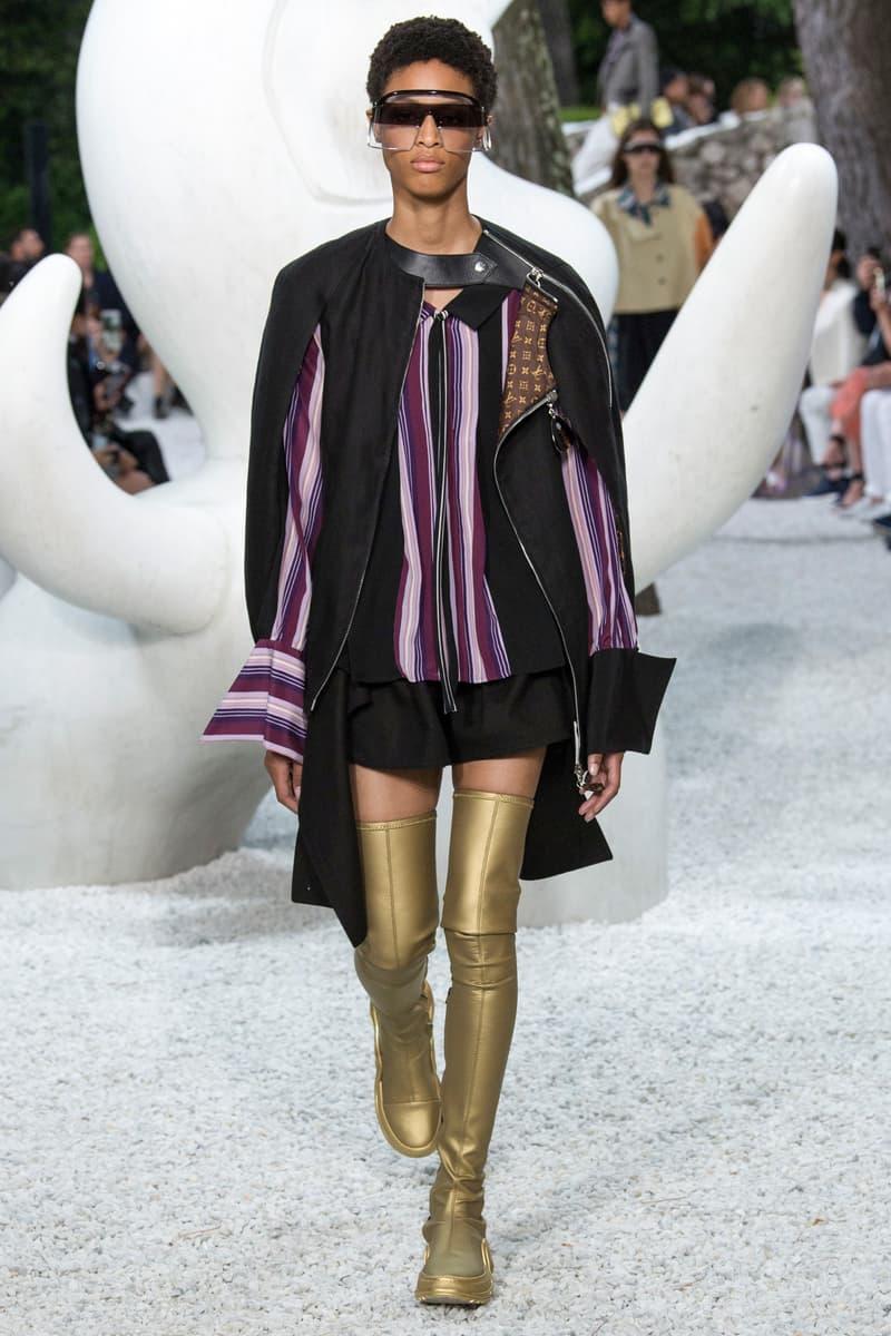 Louis Vuitton Resort 2019 Collection Show nicolas ghesquiere womanswear grace coddington accessories sneaker boots sunglasses