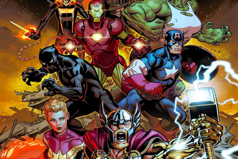 Marvel Avengers Comic Book Series Captain America Iron Man Thor captain marvel black panther doctor strange
