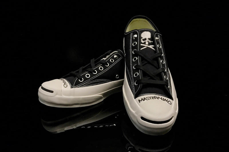 mastermind JAPAN x Converse Addict Jack Purcell Canvas black