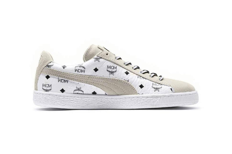 MCM PUMA Suede Collaboration tracksuit track suit may 2018 release date info drop sneakers shoes footwear 50th anniversary collection