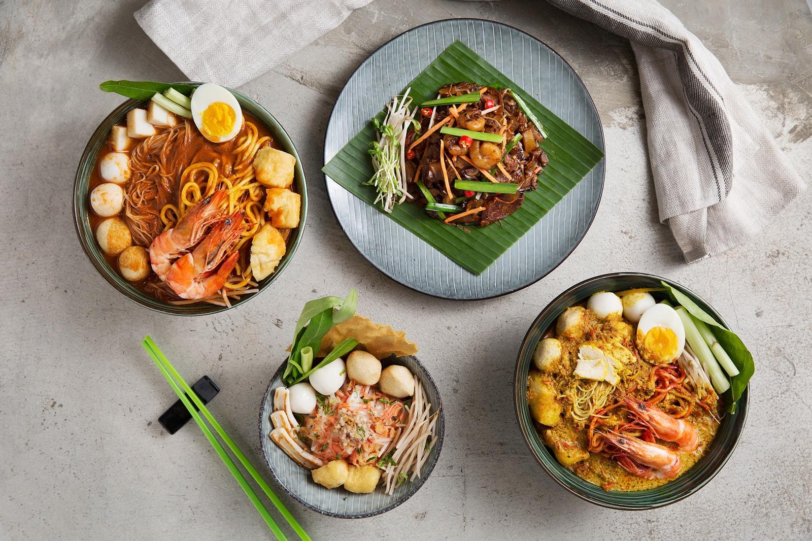 Mean Noodles Profile Food Design Hong Kong openUU Caroline Chou Kevin Lim noodle noods dishes plates plating