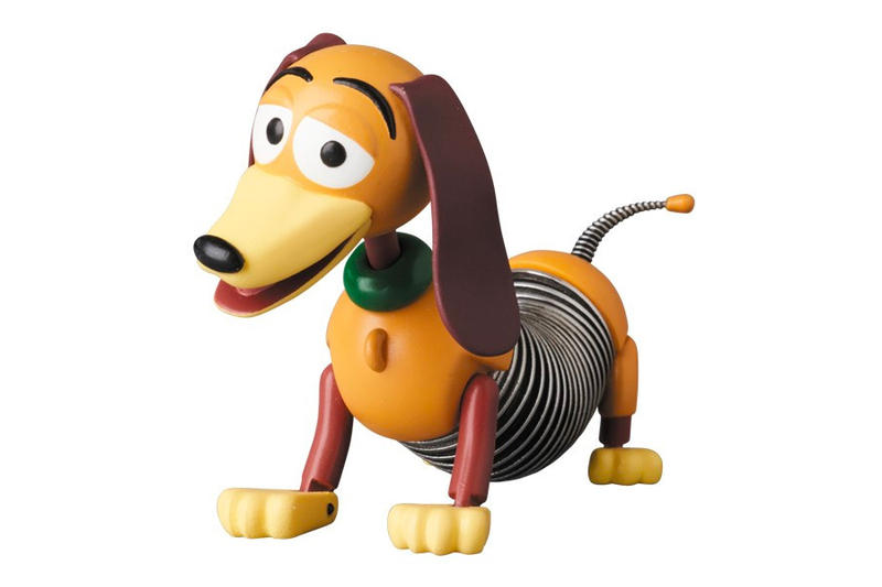 Pixar Toy Story Medicom Toy Rex Hamm Sergeant Green Army Men Slinky Dog Jessie Lots o Huggin Bear