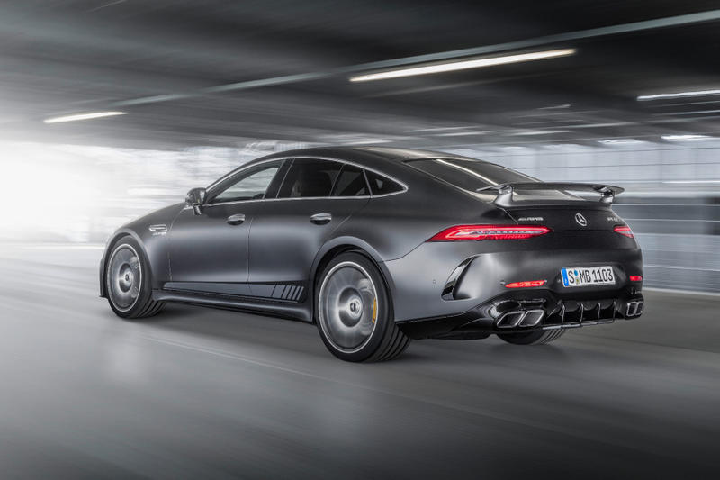 Mercedes-AMG GT 63 S 4MATIC+ Edition 1 Benz AMG Sports Car Automotive German Engineering Engine Mechanics BMW Coupe