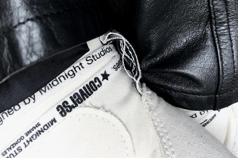 Midnight Studios Converse Collaboration Shane Gonzales 2018 release date info drop awge black white