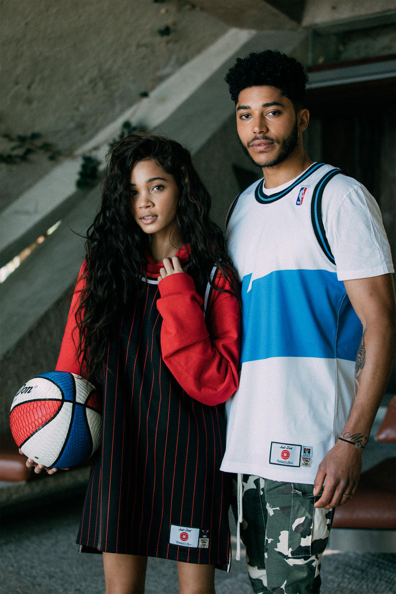 16d82bb00 Jerseys done the luxury way. Mitchell Ness Just Don The No Name Collection  2018 may fashion chicago bulls cleveand cavaliers golden
