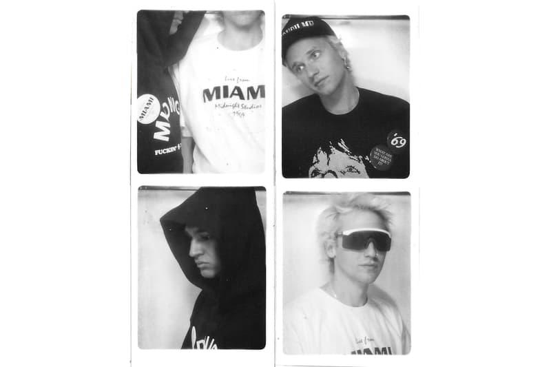 MRKT DEUX Midnight Studios Live From Miami Capsule Collection Lookbook