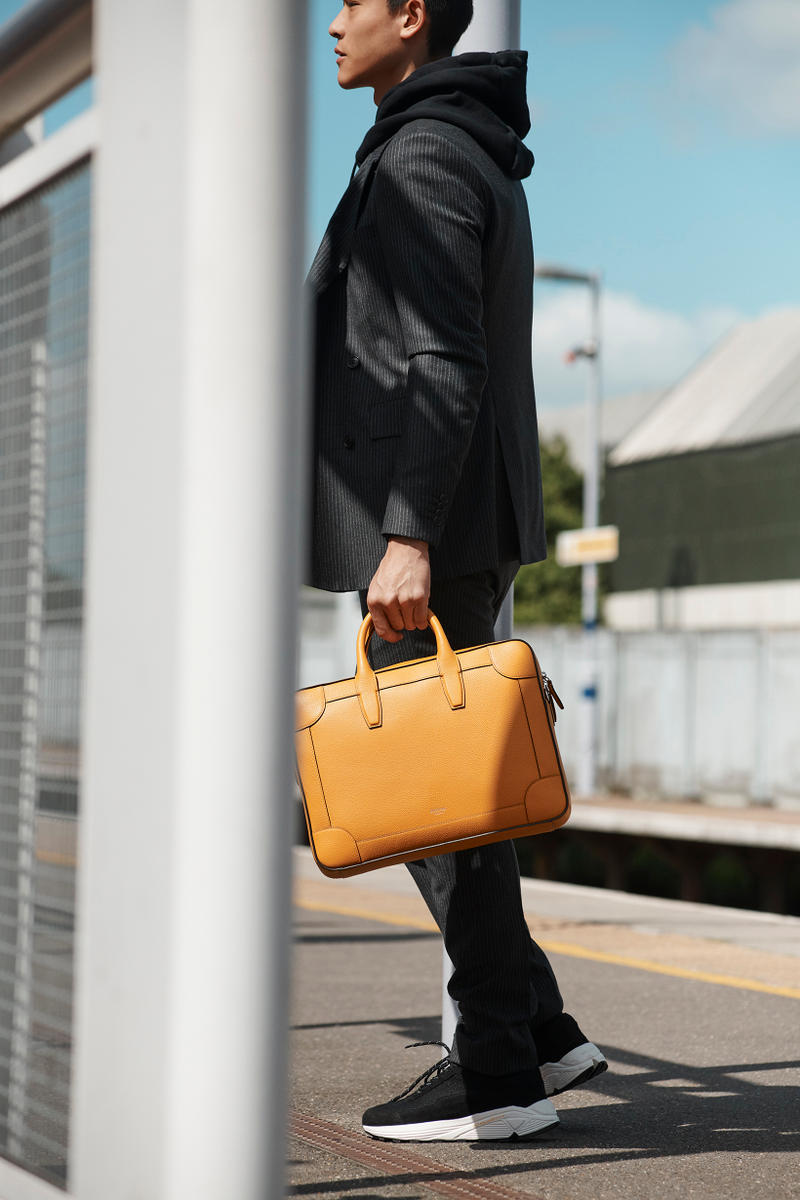 Mulberry Men's Accessories Commuter Editorial Train London Heritage Bag Reston