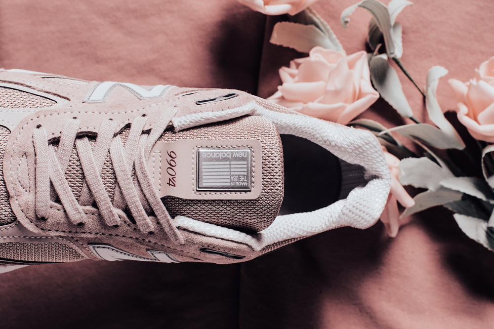 New Balance 990 Faded Rose Komen Pink may 2018 release date info drop sneakers shoes footwear feature boutique